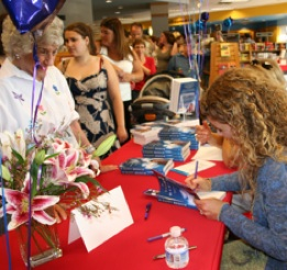 Book signing by author of the Happy Medium, Jodi Livon