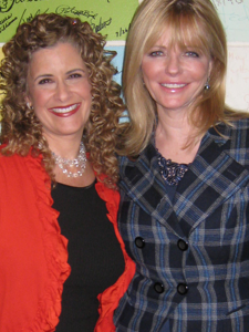 Cheryl Tiegs and Jodi Livon