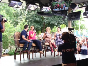 tv appearance at the State Fair
