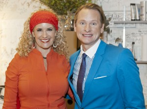 Jodi & Carson Kressley...Queer Eye for the Straight Guy!
