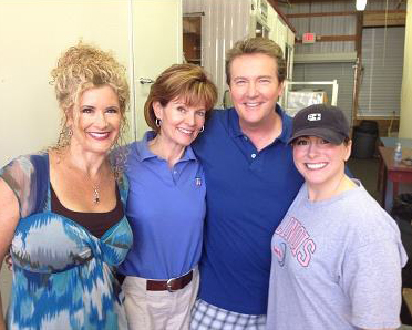 Diana Pierce, Pat Evans and Christina Vandre of KARE 11