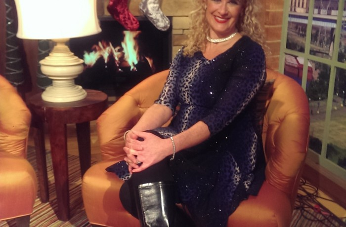 On the Set of Twin Cities Live 2014!