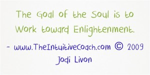 The-Goal-of-the-Soul-is YES