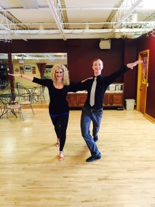 Jodi and Trent SAMBA practive January 2016